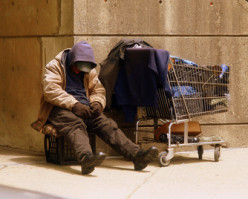 Have you ever given a homeless person on the street any money?