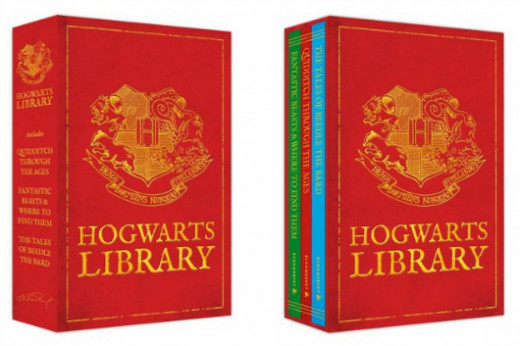 J.K. Rowling published a few of Harry Potters textbooks as a benefit for the charity Comic Relief U.K.