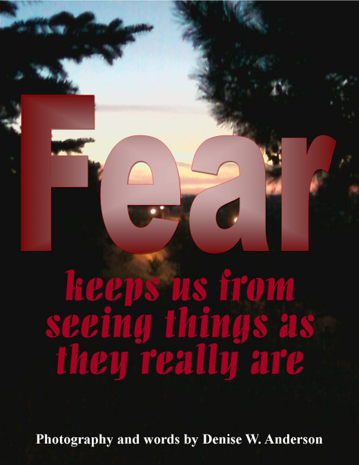 Fear gets in the way of our emotional health.