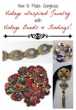 Buying Vintage Beads and Making Vintage-Inspired Jewelry