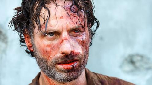 Rick Grimes Amidst the Crazy