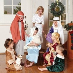 Nativity Plays and the Costumes Used in Them