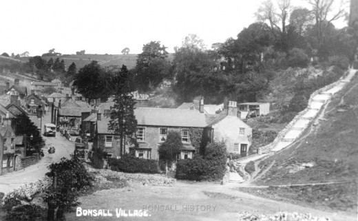 Bonsall Village, Derbyshire