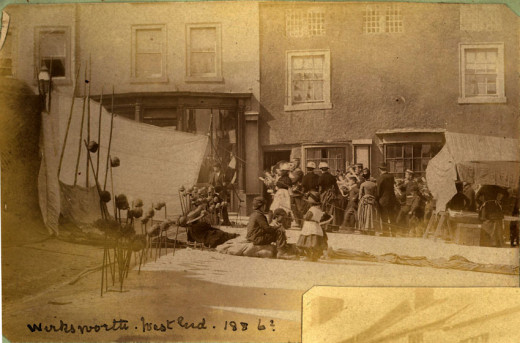 Wirksworth Village c. 1886