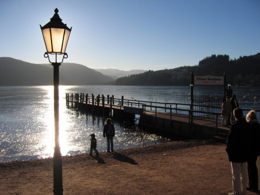 one of the most popular tourist attraction in the black forest is the titisee lake..