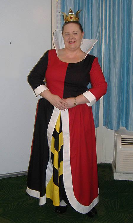 Hollie as the Queen of Hearts