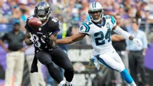 Steve Smith delivered on his promise to make the Panthers pay.