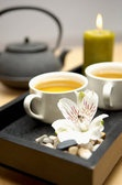 Prepare a nice cup of soothing herbal tea for stress reduction