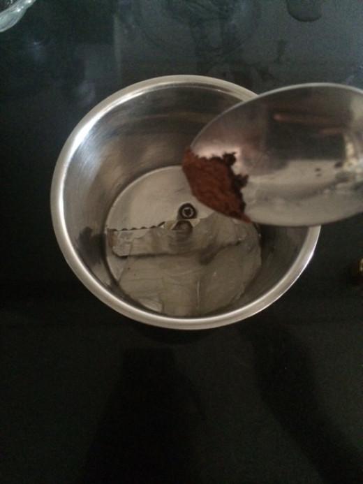 Add 1/2 teaspoon of cinnamon poweder