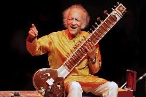 Indian Musical Instrument , 'Sitar': Artist--Pandit Ravi Shankar !