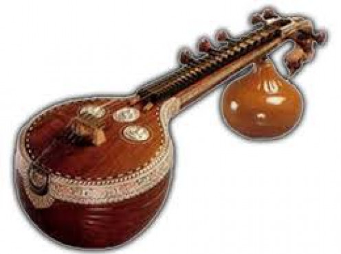 Indian Musical Instrument, 'Veena'