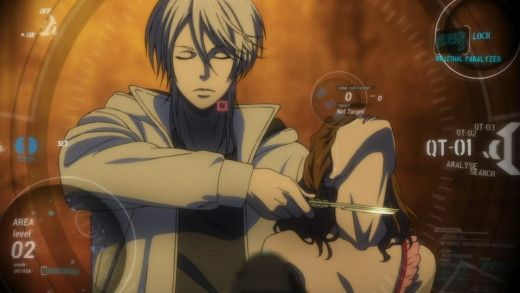 Series Antagonist Shogo Makishima has a unique gift as he can always maintain a clear Pyscho-Pass even when he is about to murder someone.