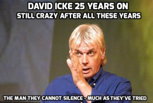 The man, the ultimate alternative legend, David Icke