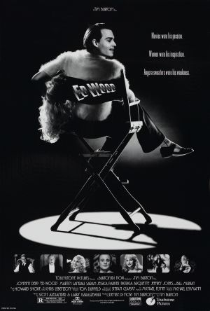 Ed Wood theatrical release poster
