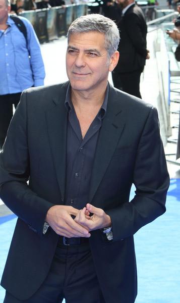 George looking coy.