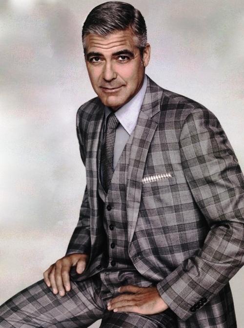 "George has ""that"" fashion sense."
