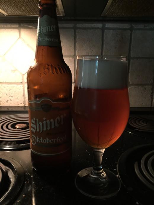 The Spoetzl Brewery's Shiner Marzen-Style Oktoberfest