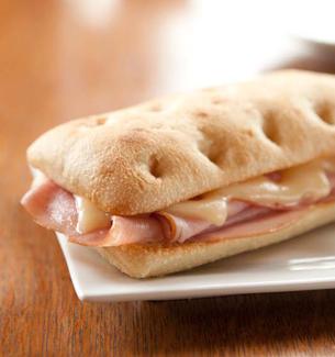 Ham & Swiss Panini