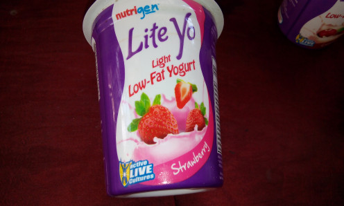 Yogurt - choose original or fruity, mix with salad or  just eat it from  the cup