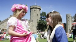 Warwick Castle: Knights Maidens and Hot Horsemen, What More Do You Want?