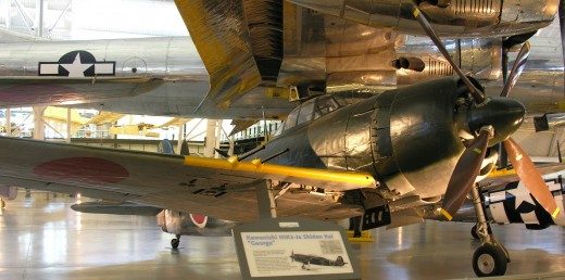 N1K2 Shinden at the Udvar-Hazy Center June 2010.