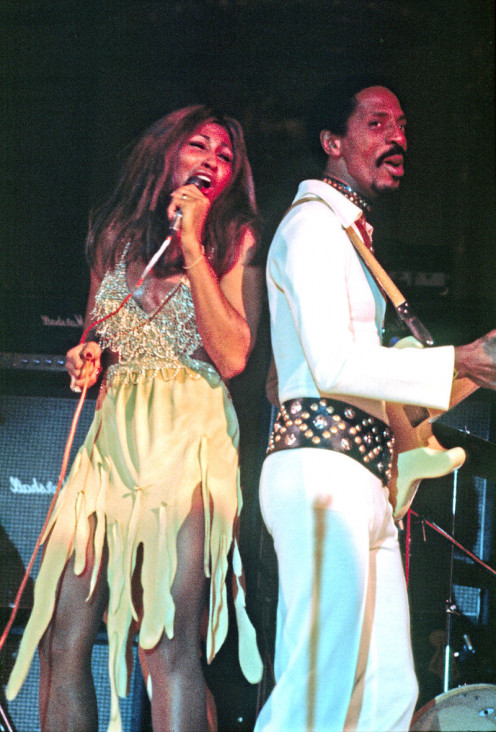 Tina and Ike in 1972