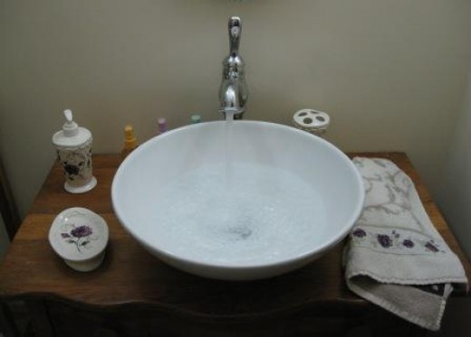 sink bowls for cleansing