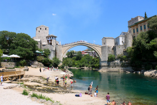 Stari Most (Old Bridge) in Mostar