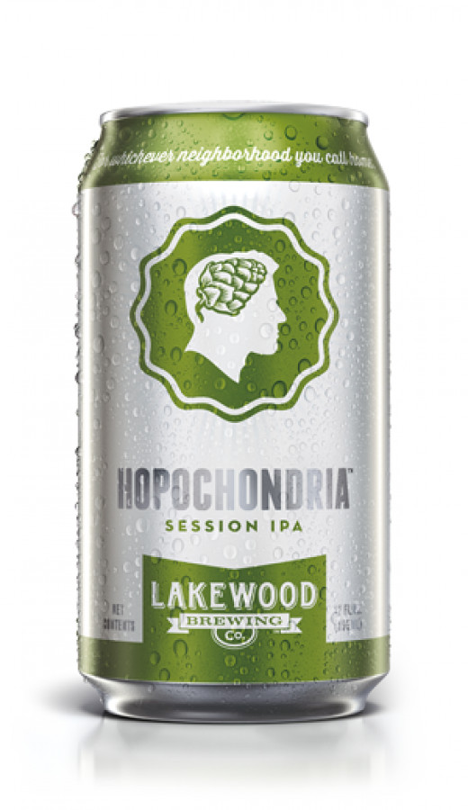 Hopochondria Session IPA is any hop heads light refreshment.