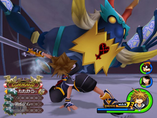 Could be battling like Kingdom Heart?