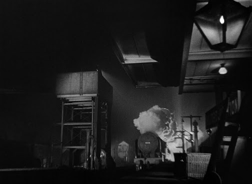 The film uses lighting to magnificent effect, creating a noir-like atmosphere
