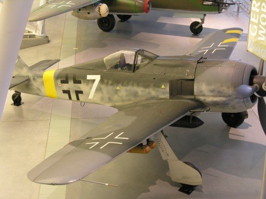 FW-190 at the Udvar-Hazy Center June 2010.