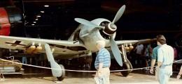 FW-190 at the Paul E. Garber Facility, Silver Hill, Maryland, circa  1985.