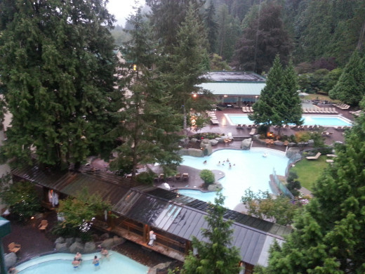 Outdoor Pools at Harrison Hot Springs