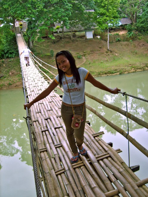 Bamboo Hanging Bridge at Sevilla – It has reopened and is a quick stop for a photo op.