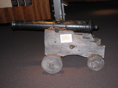 Period Cannon At Fort Pitt Museum