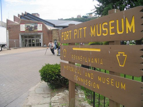Sign Near Fort Pitt Museum