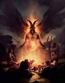 """""""You shall not let any of your descendants pass through the fire to Molech."""" (Le. 18:21)"""