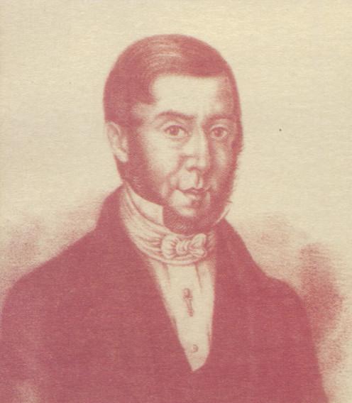 Foreign Minister Santiago Vázquez (1787-1847)