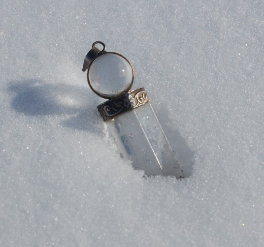 Avoid using an object such as a Crystal Pendant Pendulum Wand for dowsing, which opens up a gateway to deception from beings.
