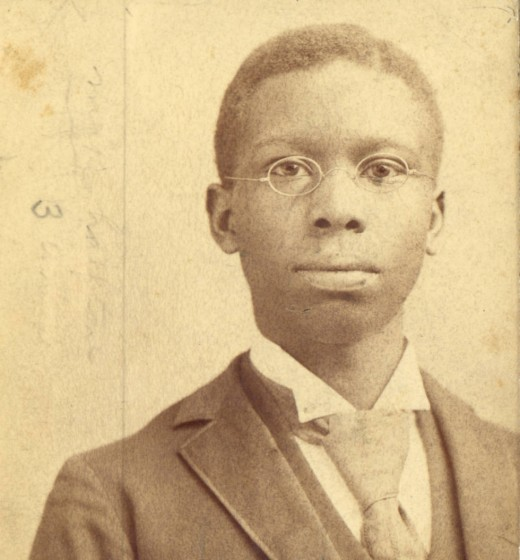Picture of a Young Paul Laurence Dunbar