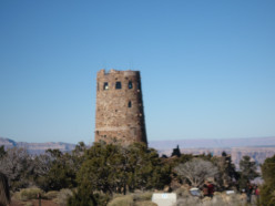 See The Desert View Watchtower At The Grand Canyon