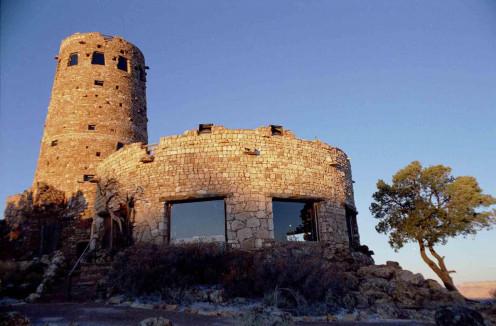 Desert View Watchtower Base