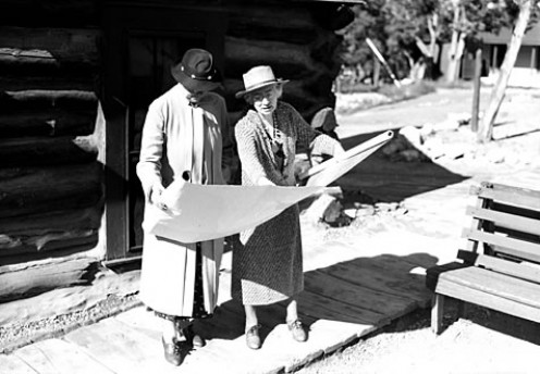 Mary Colter On Right