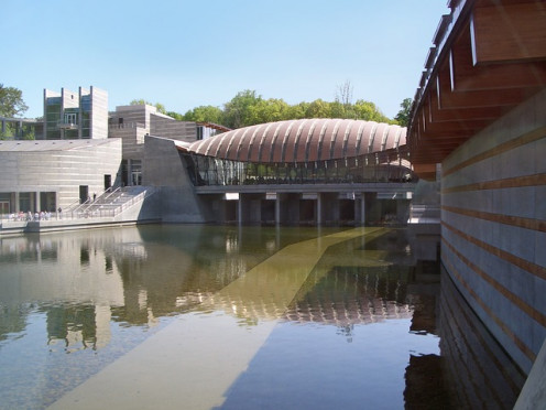 Chrystal Bridges Museum of Art in Benton.