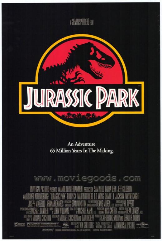 Film poster for Jurassic Park