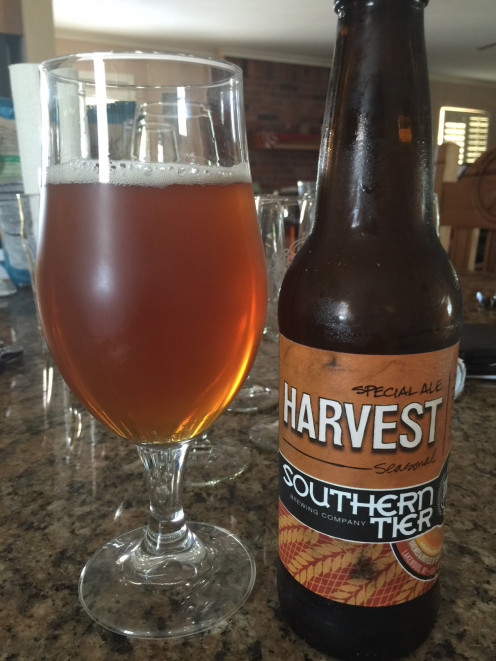 Southern Tier Harvest Special Ale