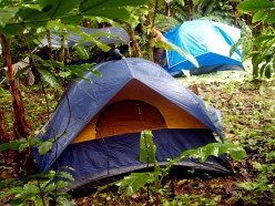 Tents can be small or large, simple or complex