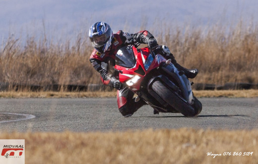 Knee dragging fun.