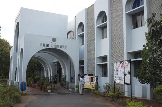 Indira Gandhi Memorial Library, HCU